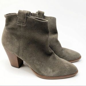 J. Crew Eaton Suede Ankle Boot